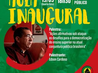 #PréBiko - Aula Inaugural com Edson Cardoso será aberta ao público!