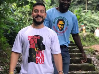 #Intercâmbio - Abe, Chris, a vivência na Bahia e a troca com nossa realidade negra!
