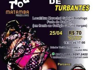 Instituto Matamba realiza workshop de turbantes