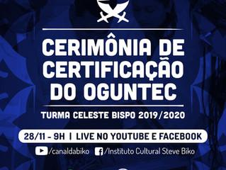 Cerimônia de Certificação do Oguntec