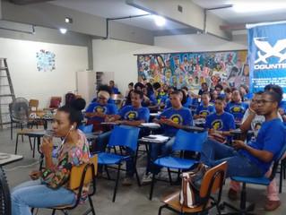#Oguntec - Alunos assistem videoconferência com engenheiros etíopes!