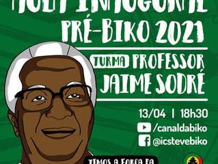 Turma 2021 do pré-vestibular Steve Biko homenageia professor Jaime Sodré