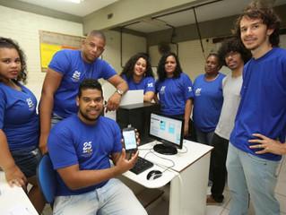 #NaMídia - Alunos do colégio Edgard Santos pretendem criar empresa júnior para gerenciar a plataform