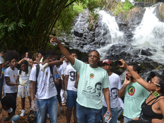 Trilha Ancestral - Instituto Steve Biko realiza Aula Pré-ENEM no Parque São Bartolomeu!