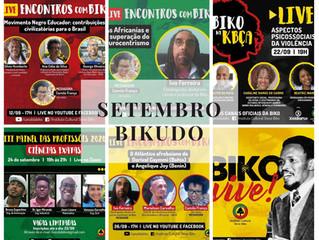 Setembro Bikudo: dos Encontros com Biko ao Painel das Profissões