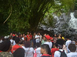 #TrilhaAncestral - Aulão reuniu professores, dirigentes e alunos no Parque São Bartolomeu!