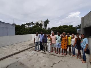Dirigentes visitam futura sede da Biko no Campo Grande