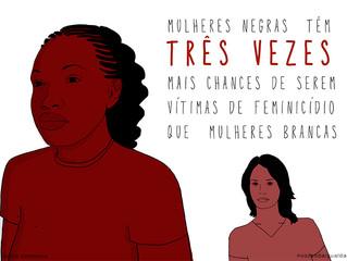 #JulhodasPretas - Debate pautará feminicídio que vitima mulheres negras!