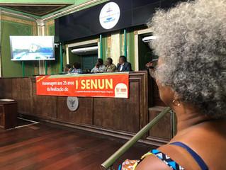 Militantes negros celebram 25 anos do Senun!