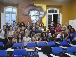 #Biko25Anos – Mais de 350 estudantes norte americanos visitaram a Biko em 2016