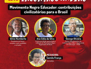 Encontros com Biko debate o Moviemnto Negro Educador