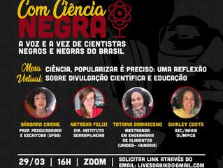 Instituto lança podcast Com Ciência Negra