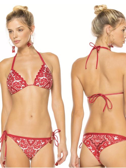 Lolita Top & Tammy Bikini Set 'Marmara' Reversible Bikini by Agua Bendita