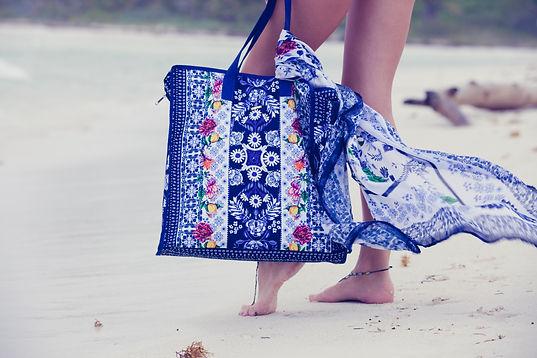 Аксесоари и чанти за плаж от Agua Bendita