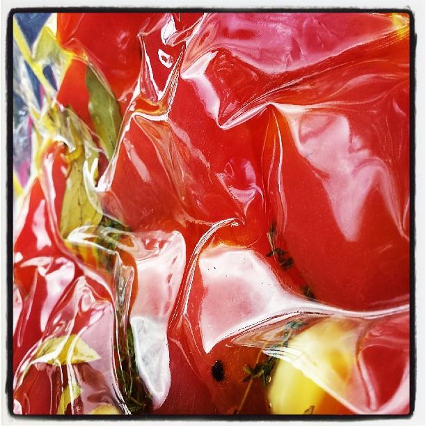 Tomato confit #sousvide #summermenu _threefatpigs