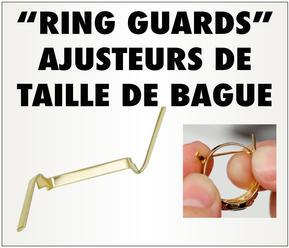 """""""Ring Guards"""" AJUSTEURS DE TAILLE DE BAGUE"""