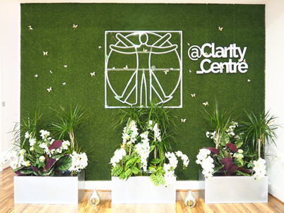 Clarity Studio Feature Wall
