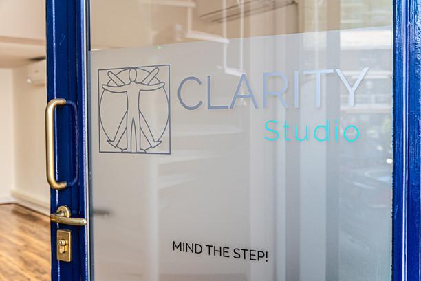 Clarity Studio Door