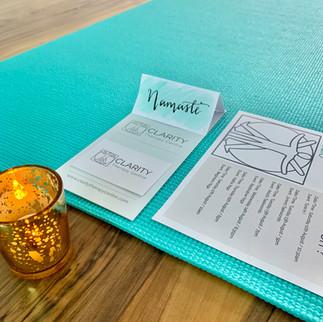 Clarity Studio Yoga Event
