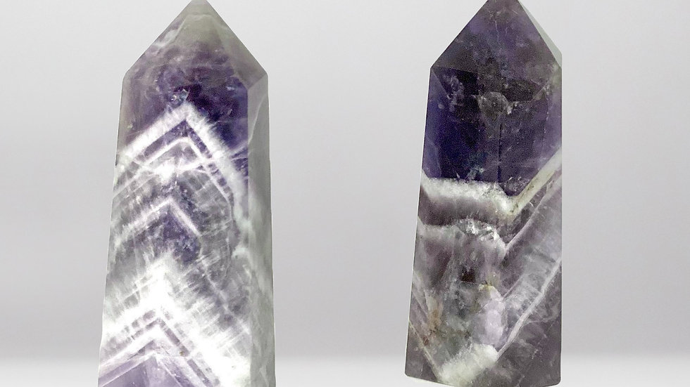 Pair of Dream Amethyst Points