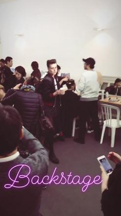 backstage liu chao