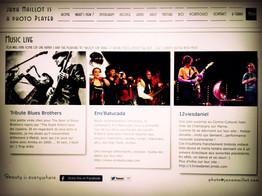 """Une nouvelle page """"Music"""" sur le site"""