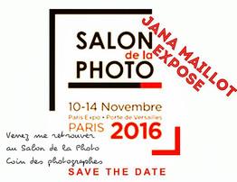 Jana au Salon de la Photo à Paris