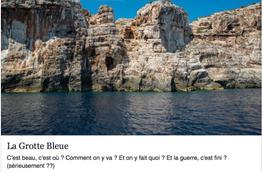Plonger dans la Grotte Bleue