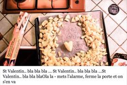 St Valentin Bla bla Bla