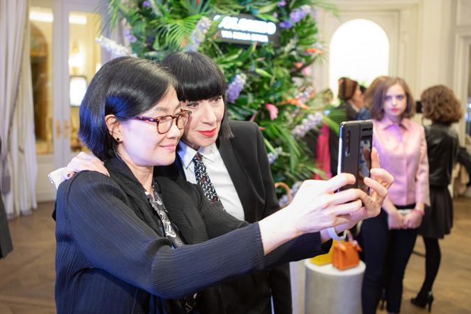 Chantal Thomass & VP Samsung at Colombo
