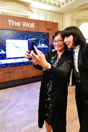 Chantal Thomass at Colombo Samsung Event