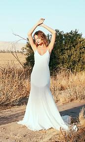 Silk Bridal Gown