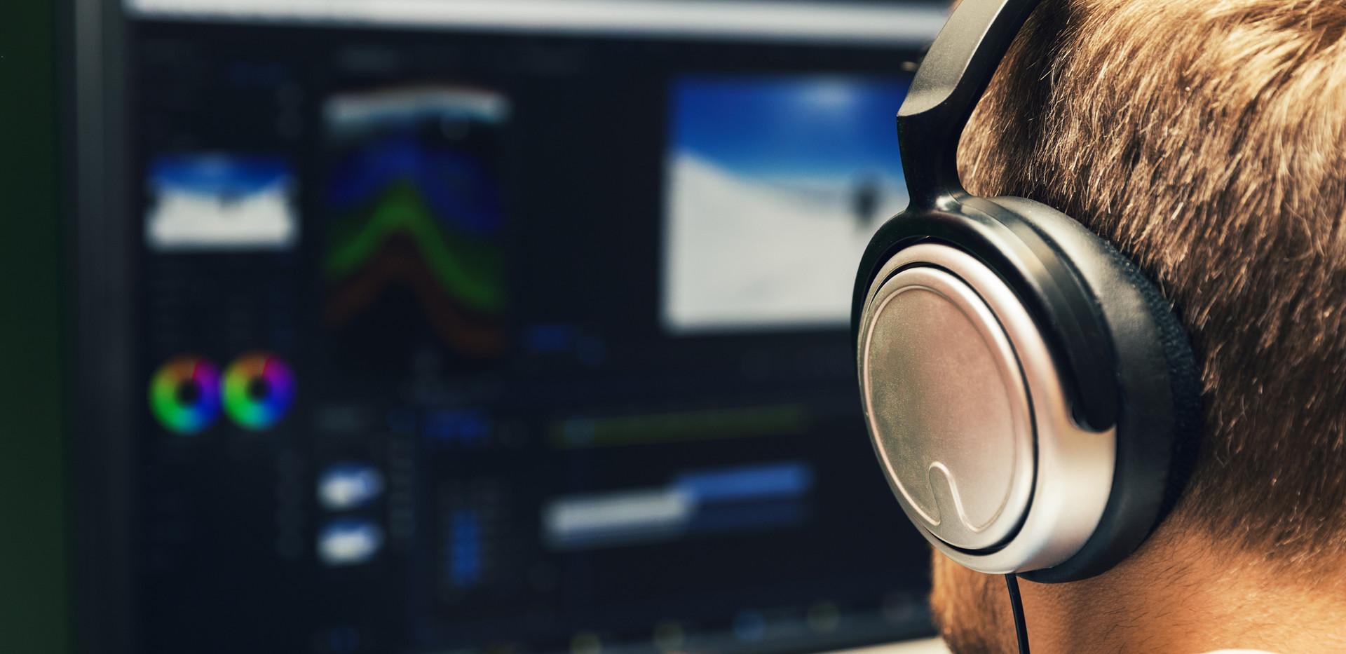 Editing with Headphones