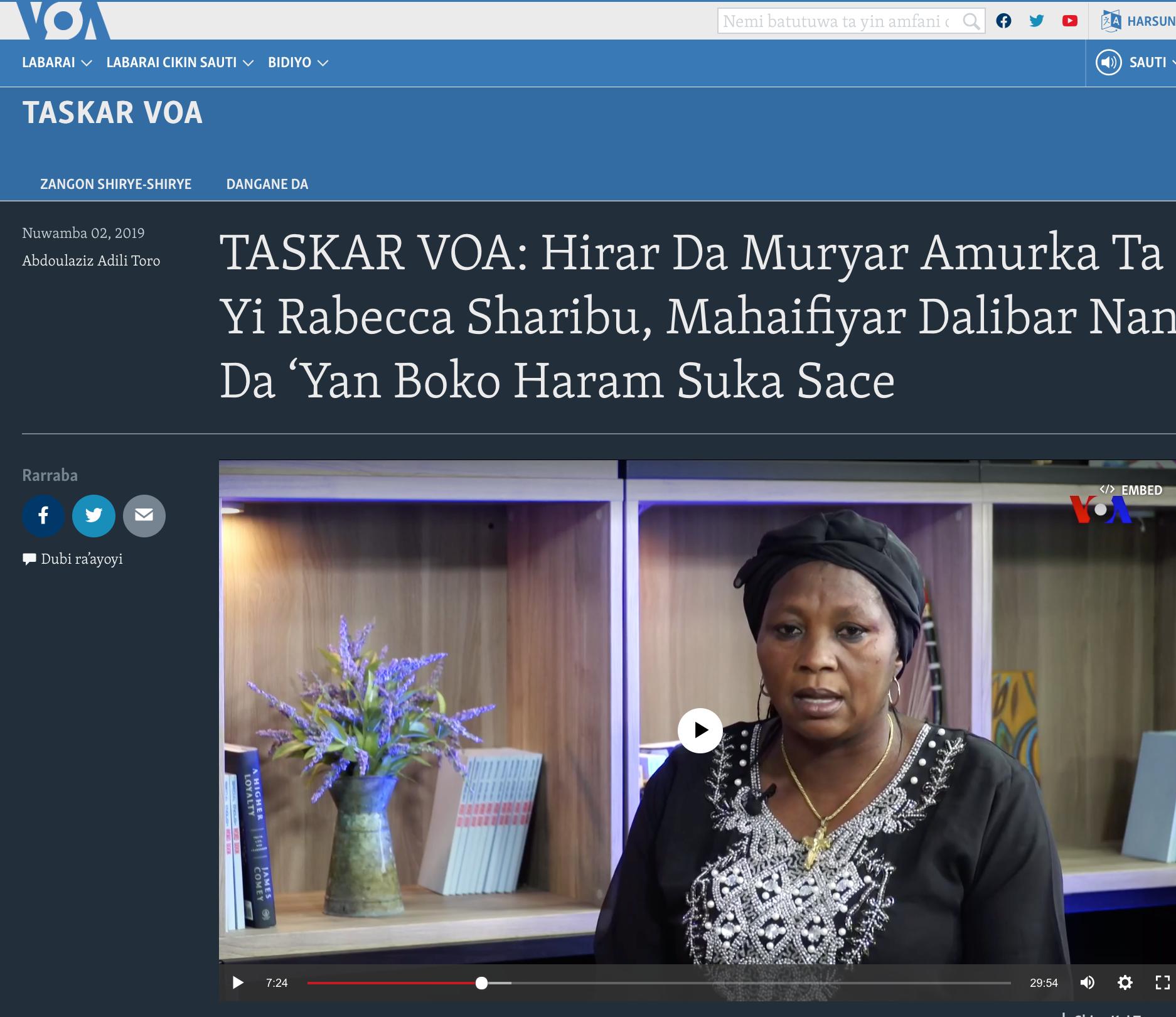 VOA Hausa
