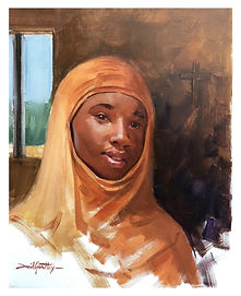 Leah Sharibu painted by David Goatley.jp