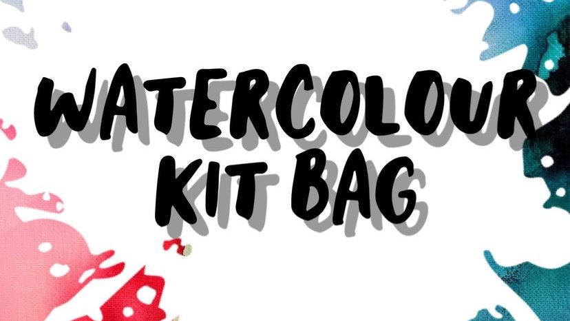 Watercolour Kit Bag