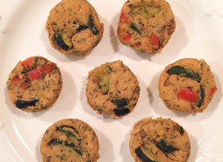 Crustless Mini Appetizer Quiche