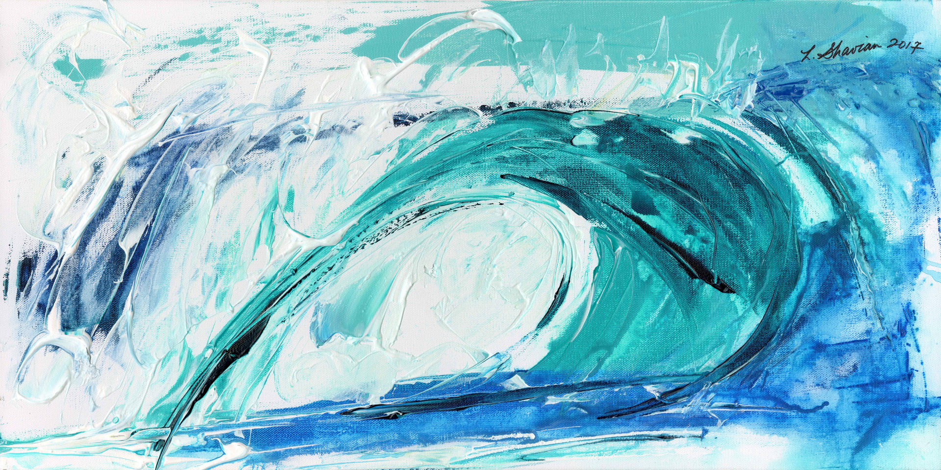 A Wave of Consequence 18hx36w $600