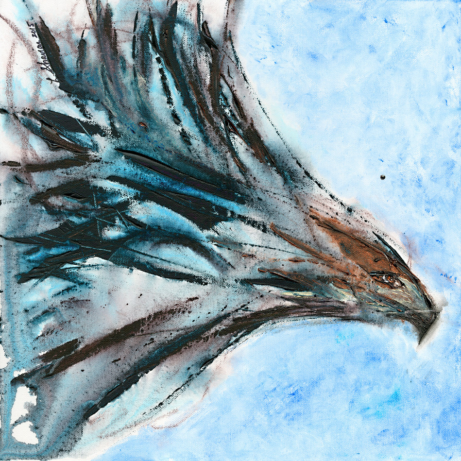 Wedge-Tail Eagle 18 x 18  $450