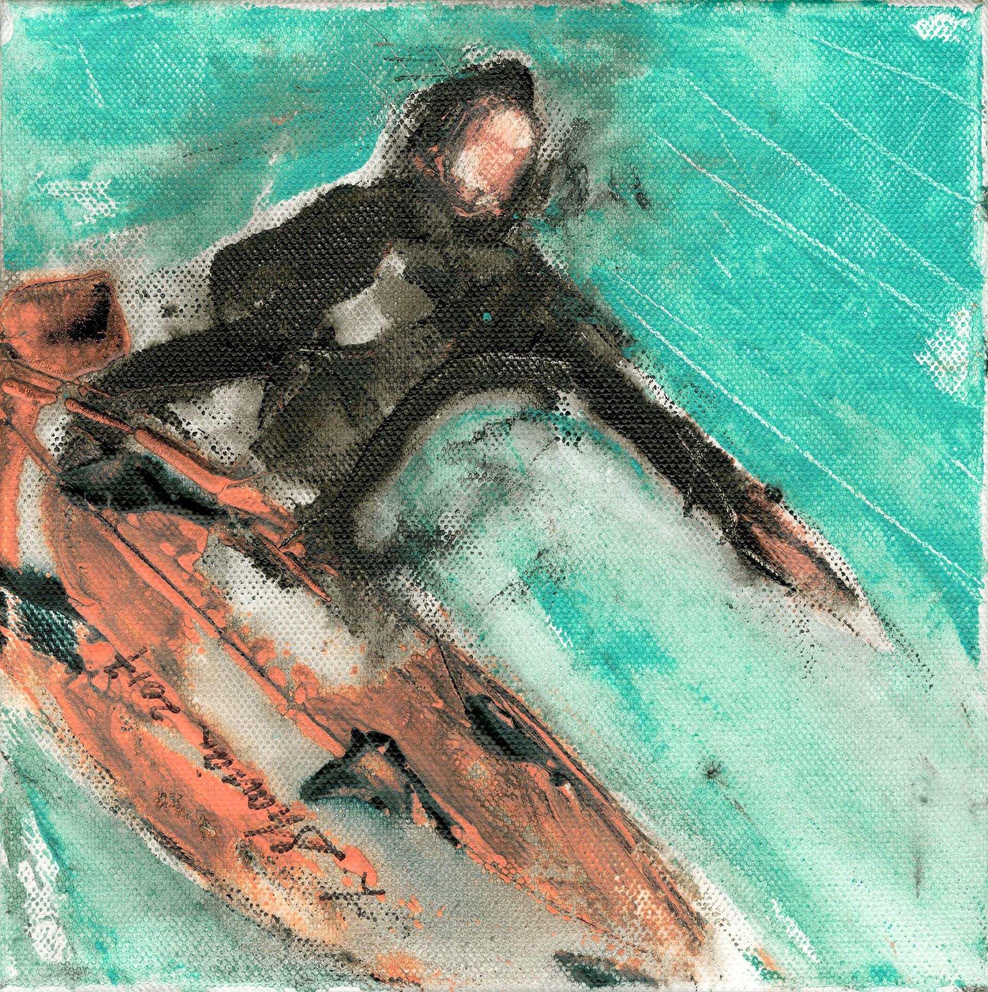 Little Surfer 18x18  $450