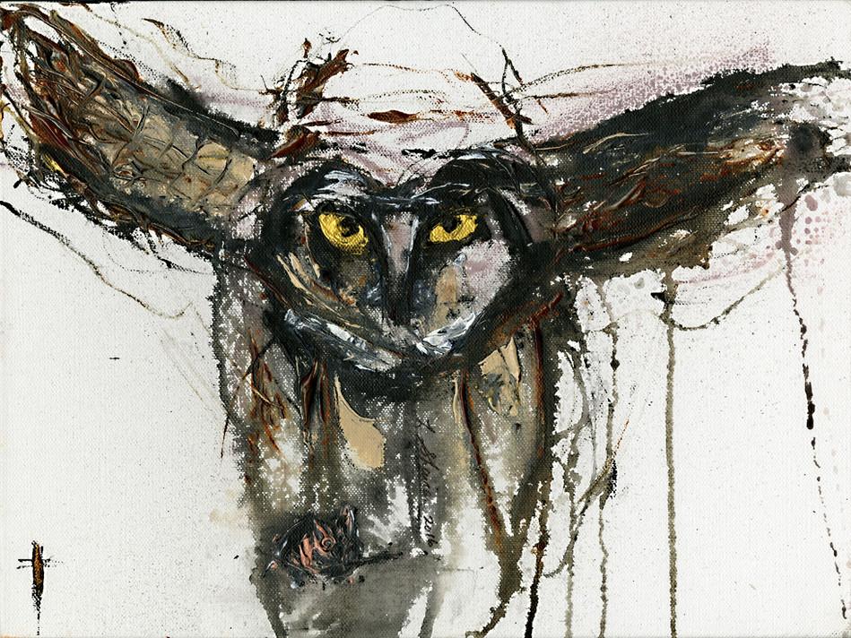 Night Owl  15x20  $450