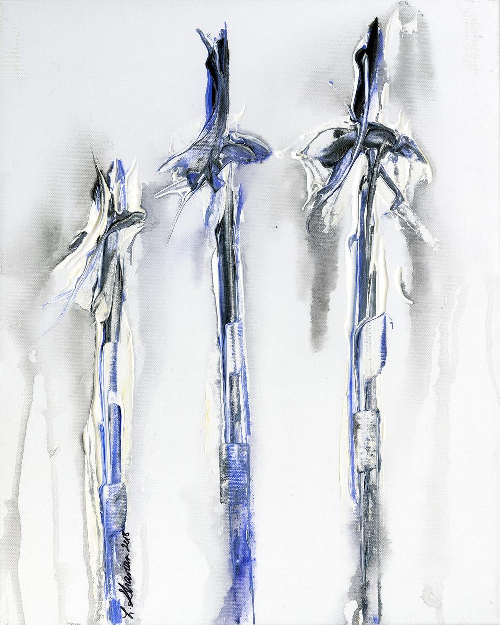 """The Wind Farm  16"""" x 20"""" $450"""