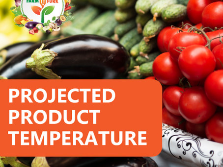 Shelf Life – Projected Product Temperature