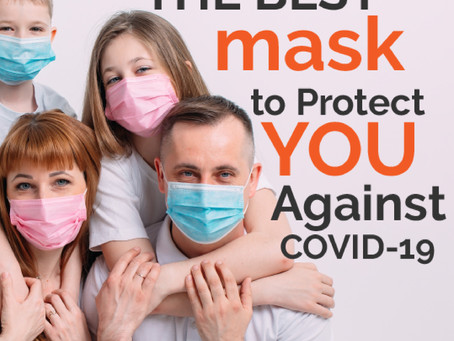 THE BEST FACE COVERINGS TO PROTECT YOU AGAINST COVID-19