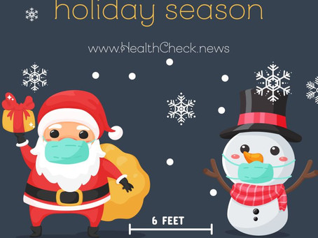 TIPS FOR A HEALTHIER HOLIDAY SEASON DURING COVID-19