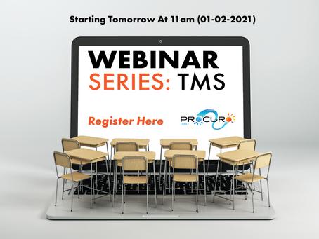 Procuro Webinar & Training Series (TMS)