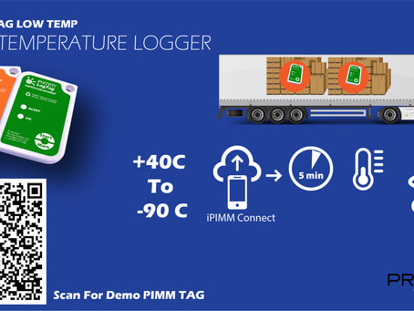 Our latest product launch, PIMM TAG Low Temp