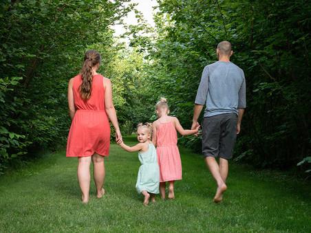 Okanagan Family Photographer | West Kelowna, BC | A Family Engagement