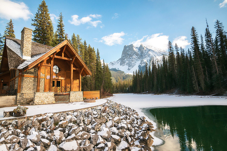 Emerald Lake Lodge, Field BC