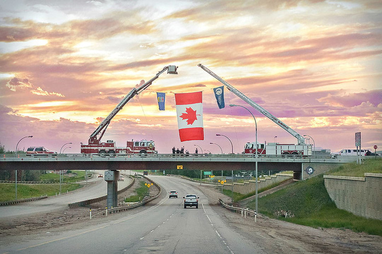 Responder's Way, Fort McMurray Fire Residents Return Home